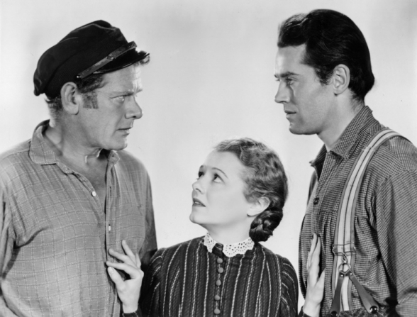 Charles Bickford, Janet Gaynor, Henry Fonda