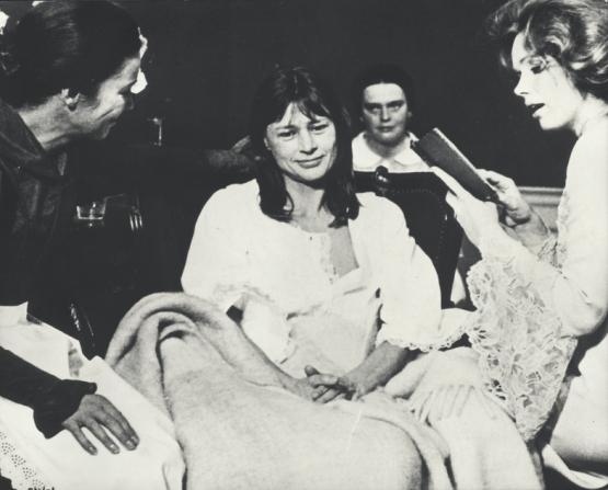 Ingrid Thulin, Harriet Andersson, Liv Ullmann