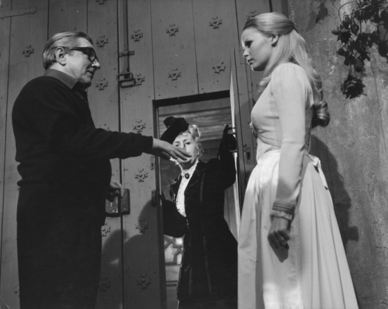 Terence Fisher, Veronica Carlson