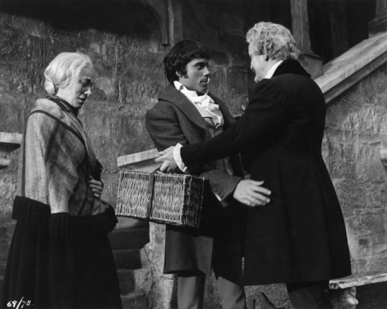 Oliver Reed, Clifford Evans, Hira Talfrey