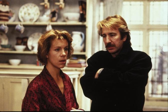 Juliet Stevenson, Alan Rickman