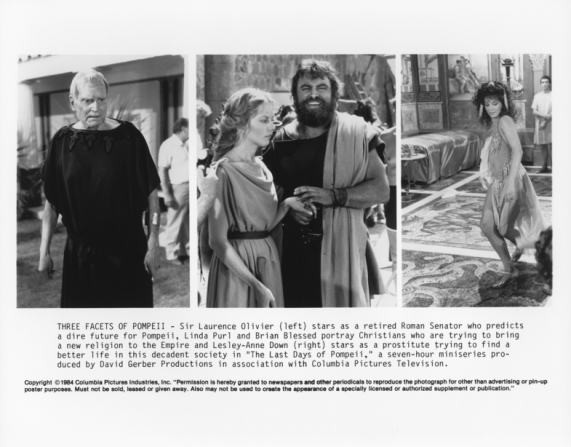 Laurence Olivier, Linda Purl, Brian Blessed, Lesley-Anne Down