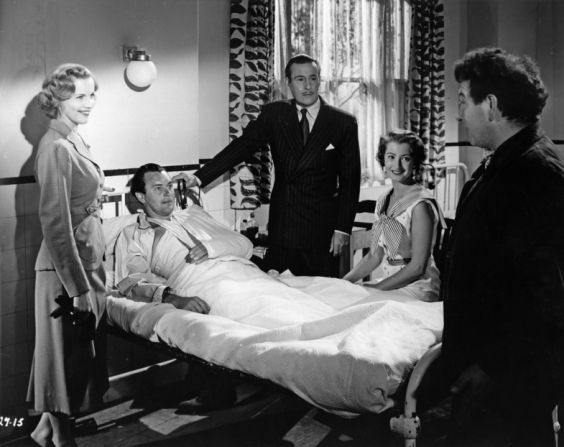 Tom Conway, Honor Blackman, Michael Balfour, Paddy Webster, Brian Worth