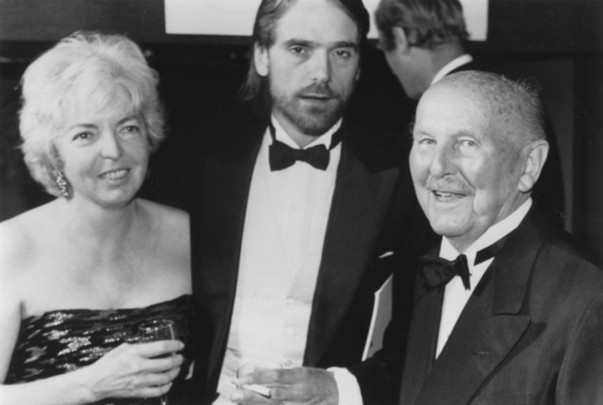 Michael Powell, Thelma Schoonmaker, Jeremy Irons