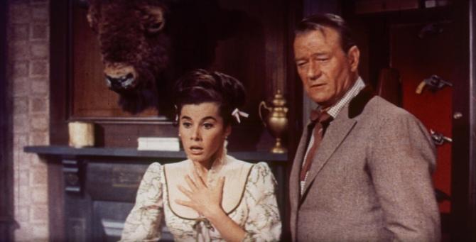 John Wayne, Stefanie Powers