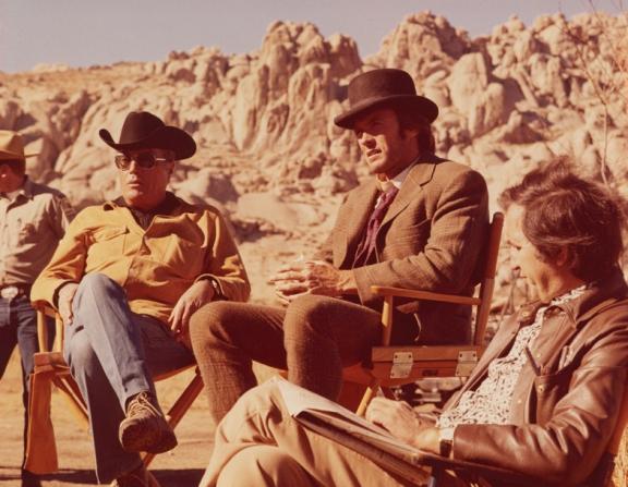 Clint Eastwood, John Sturges, Sidney Beckerman