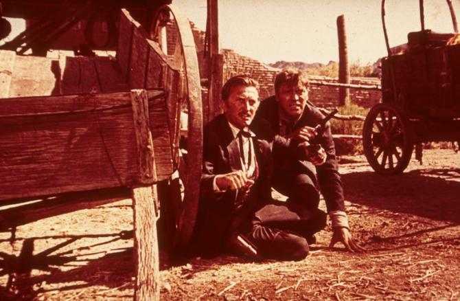 Kirk Douglas, Burt Lancaster