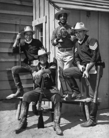 Frank Sinatra, Dean Martin, Sammy Davis Jr, Peter Lawford