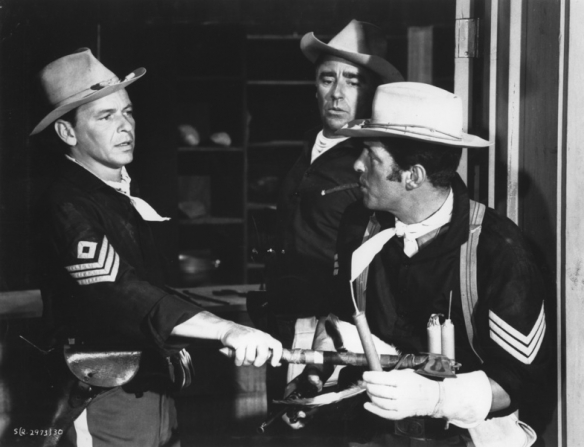 Peter Lawford, Frank Sinatra, Dean Martin