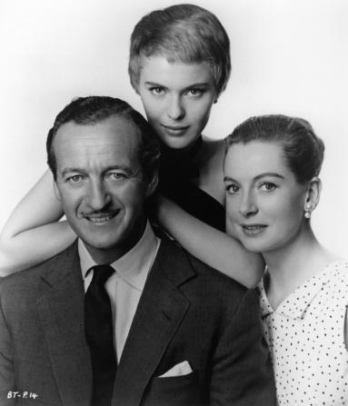 David Niven, Jean Seberg, Deborah Kerr