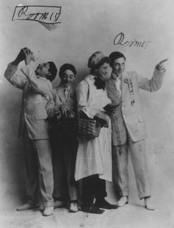 Groucho Marx, Gummo Marx, Harpo Marx