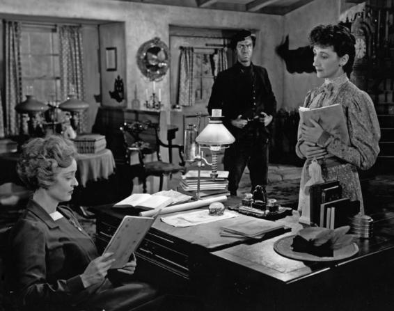 John Dall, Bette Davis, Mildred Dunnock