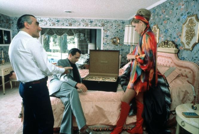 Martin Scorsese, Robert De Niro, Sharon Stone