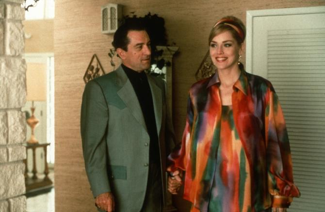 Sharon Stone, Robert De Niro