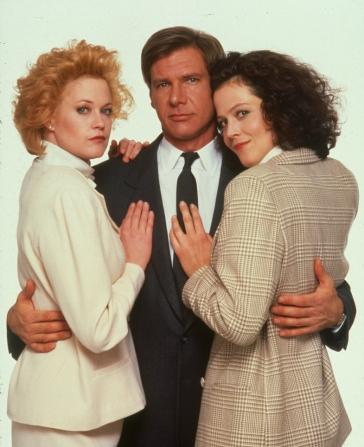 Melanie Griffith, Harrison Ford, Sigourney Weaver