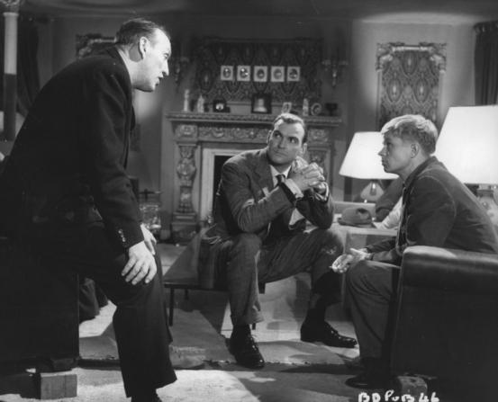 Stanley Baker, Joseph Losey, Hardy Kruger