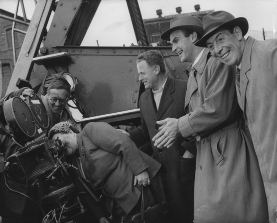 Stanley Baker, Basil Dearden, John Slater