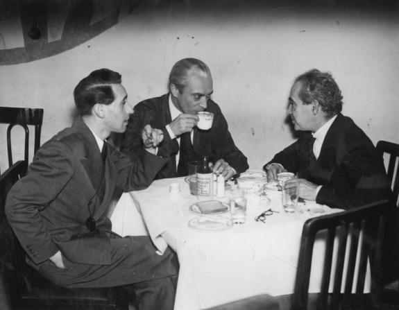 Berthold Viertel, Conrad Veidt, Curt Courant