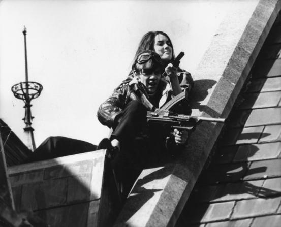 Malcolm McDowell, Christine Noonan