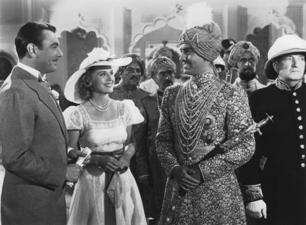 Myrna Loy, Tyrone Power, George Brent