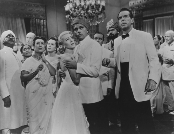 Carlo Rizzo, Lana Turner, Richard Burton, Fred MacMurray