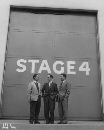 J. Lee Thompson, Frank Godwin, Ted Willis