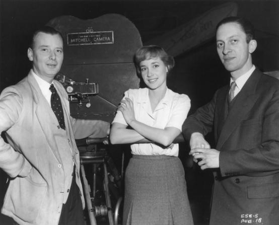 J. Lee Thompson, Sylvia Syms, Frank Godwin