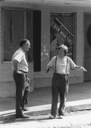 Gene Hackman, Alan Parker