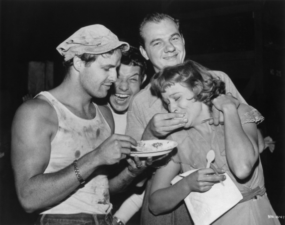 Marlon Brando, Karl Malden, Kim Hunter
