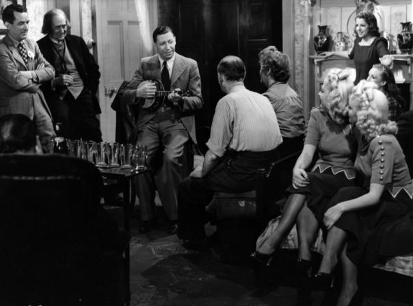 Jack Daly, Vincent Holman, George Formby, Marjorie Browne