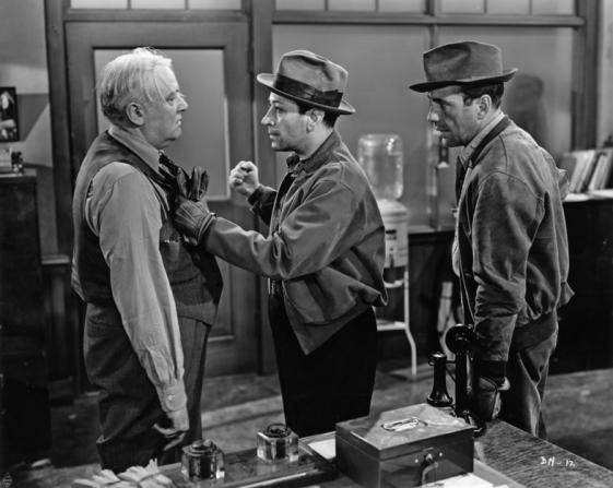 Charles Wilson, George Raft, Humphrey Bogart