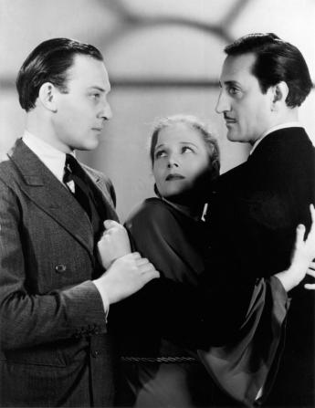 Ann Harding, Bruce Seton, Basil Rathbone