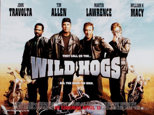 John Travolta, Tim Allen, Martin Lawrence, William H. Macy