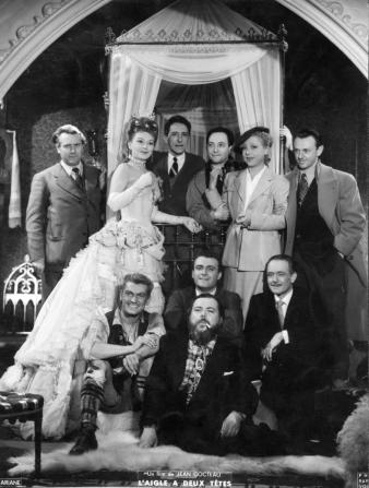 Edwige Feuillère, Jean Cocteau, Jean Marais