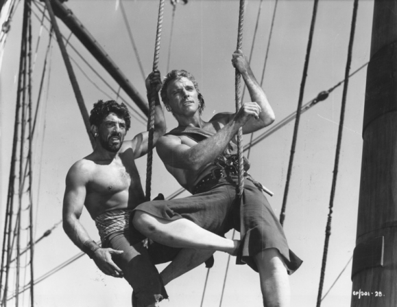 Nick Cravat, Burt Lancaster