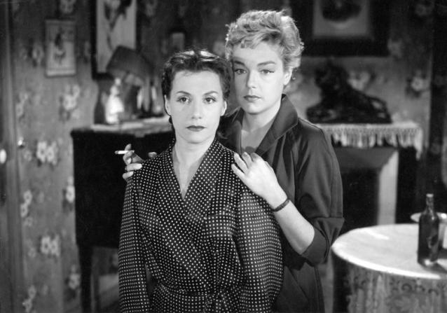 Véra Clouzot, Simone Signoret