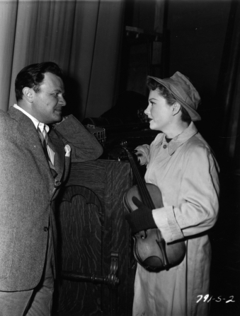 Joseph L. Mankiewicz, Anne Baxter