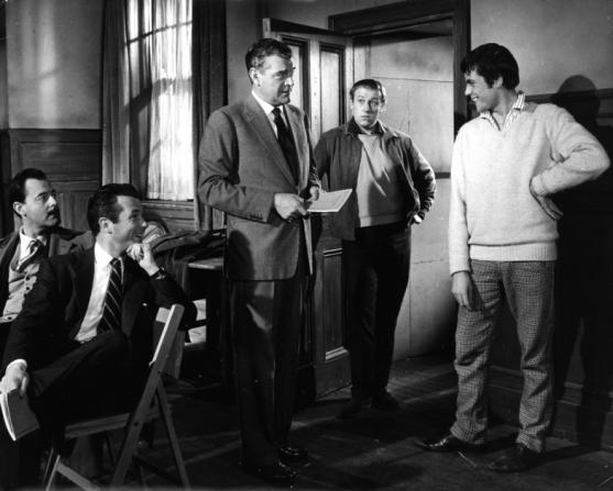Bryan Forbes, Jack Hawkins, Oliver Reed