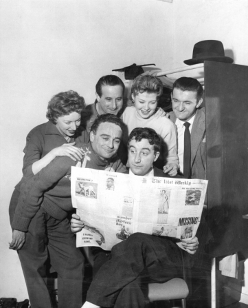 June Whitfield, Max Geldray, Graham Stark, Peter Sellers, Kenneth Connor