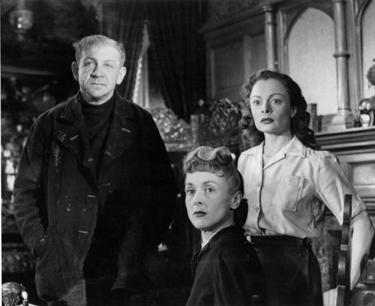 Sidney James, Betty Ann Davies, Sheila Burrell