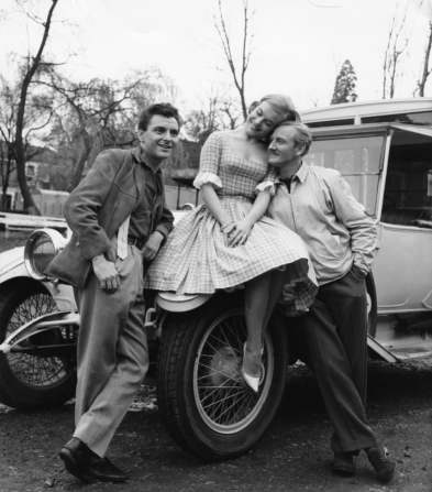 Bob Monkhouse, Shirley Eaton, Leslie Phillips