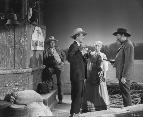 Roger Keen, John Wayne, Vera Hruba Ralston, Grant Withers, Walter Brennan