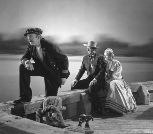 Walter Brennan, John Wayne, Vera Hruba Ralston
