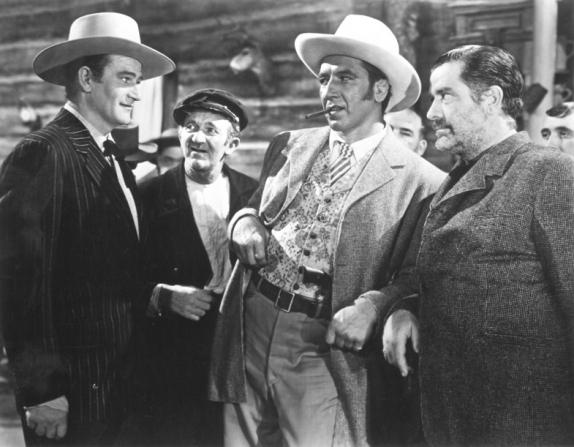 John Wayne, Walter Brennan, Roger Keen, Grant Withers