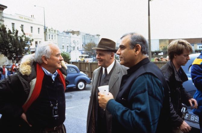 James Ivory, Anthony Hopkins, Ismail Merchant