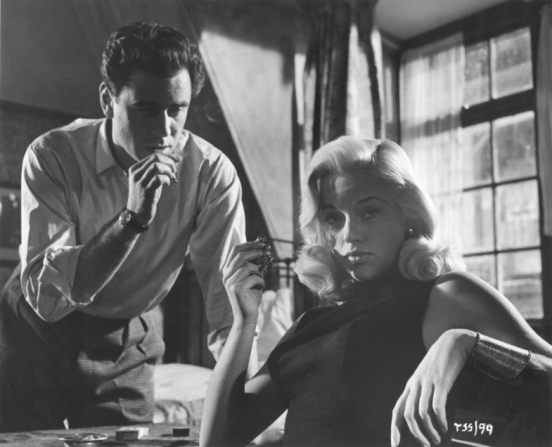 George Baker, Diana Dors