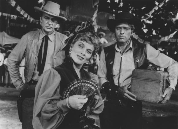 Gary Cooper, Sara Montiel, Burt Lancaster
