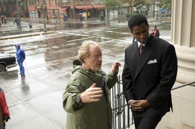Ridley Scott, Denzel Washington