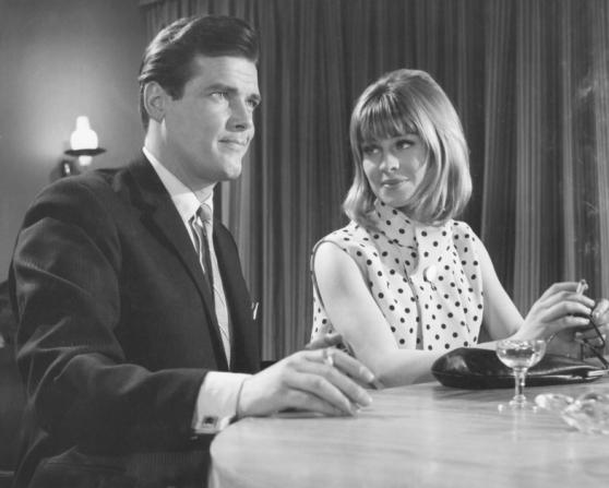 Roger Moore, Julie Christie