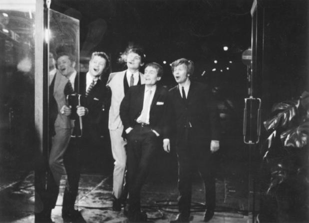 Dudley Sutton, Jess Conrad, Tony Garnett, Ronald Lacey
